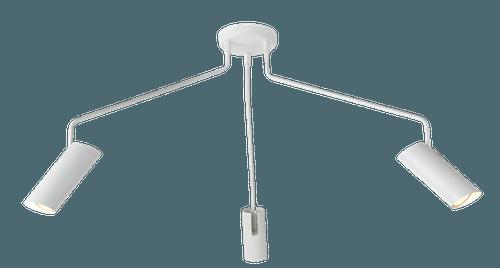 biala lampa pająk z regulacją