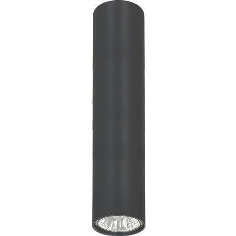 grafitowa lampa sufitowa tuba