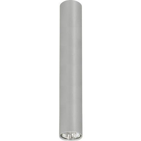 srebrna tuba sufitowa nowoczesna