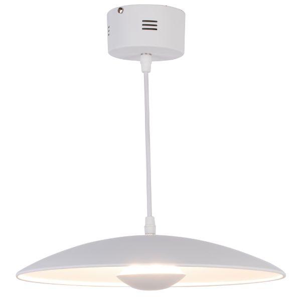 płaska lampa minimalistyczna nad stół