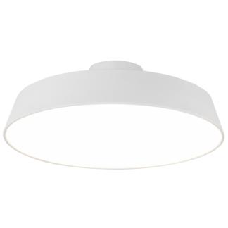 Duża lampa sufitowa Orlando - biała, LED