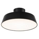 czarna lampa sufitowa nowoczesna