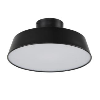 Czarna lampa sufitowa Orlando - LED, 4000K