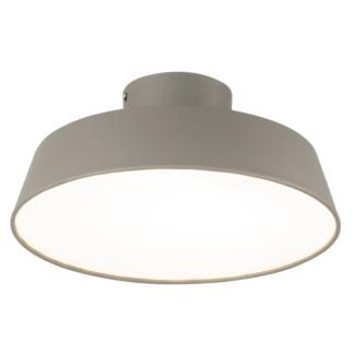 Szara lampa sufitowa Orlando - LED, 4000K