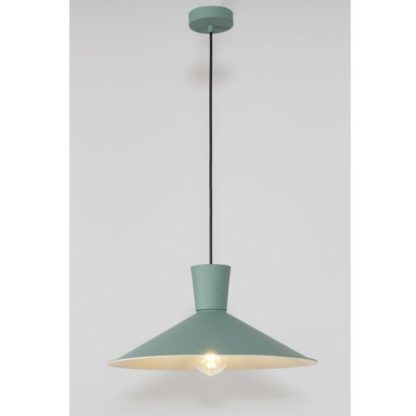 zielona lampa wisząca nowoczesna