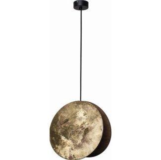 Nowoczesna lampa wisząca Wheel - sklejka