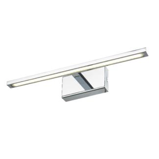 Srebrny kinkiet Isla - LED, IP44