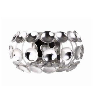 Oryginalny kinkiet Ferrara - srebrny