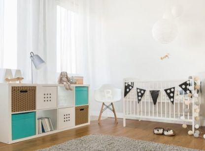 szara lampka do pokoju dziecka