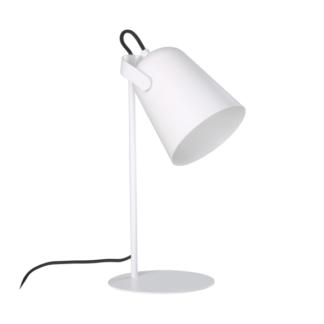 Biała lampa biurkowa Siri - skandynawska, regulowana