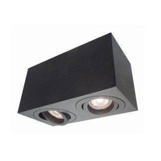 Podwójna oprawa natynkowa Lyon - regulowane źródła światła