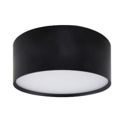 czarna lampa sufitowa