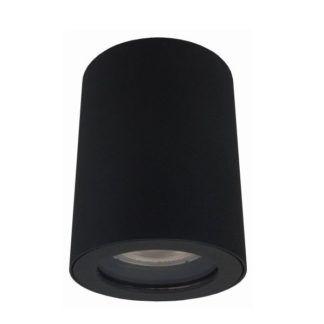 Nowoczesna lampa sufitowa Faro - IP65, czarna