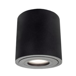 Czarna tuba sufitowa Faro XL - IP44