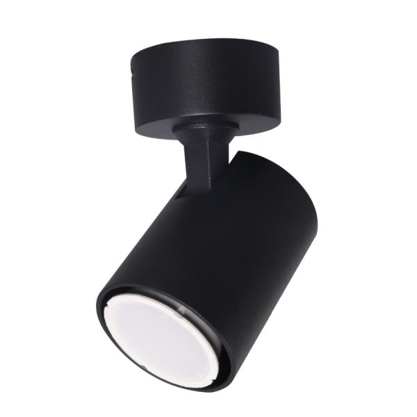 czarny reflektor sufitowy