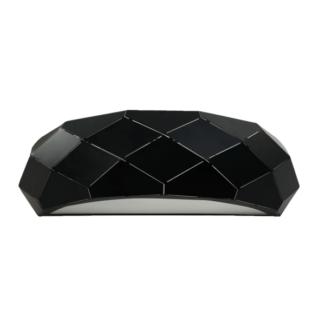 Czarny kinkiet Reus - geometryczny