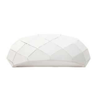 Biały kinkiet Reus - nowoczesny, geometryczny