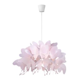 Lampa wisząca Farfalla - jasny róż