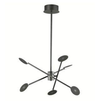Oryginalna lampa wisząca Forte - czarna, nowoczesna, LED