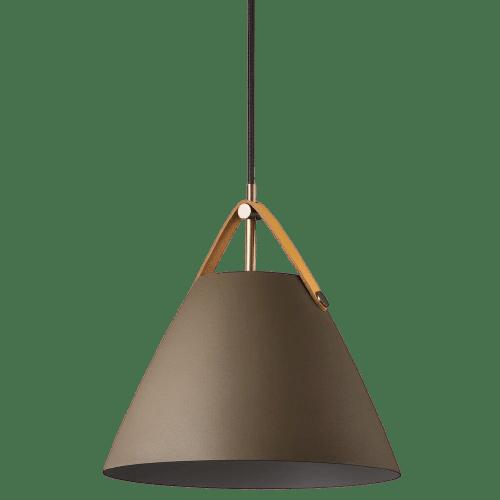 STRAP_BRĄZOWa-lampa-wiszaca-nad=stół