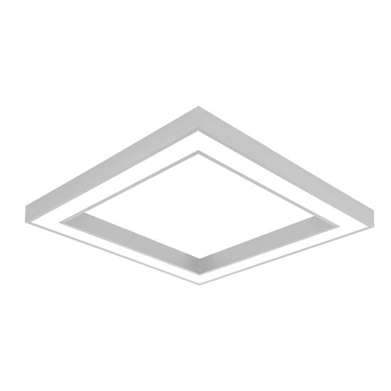 Duża lampa wisząca Geometric - LED, różne kolory