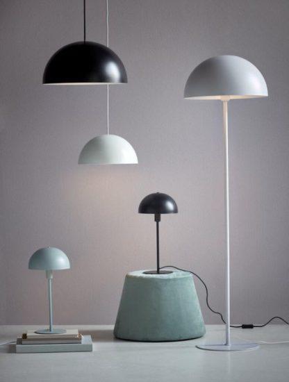 kolekcja lamp z okrągłymi kloszami nowoczesna