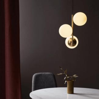 Elegancka lampa wisząca Lilly - Nordlux - szklane klosze