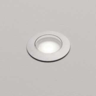 Szczelne oczko świetlne Terra 42 - srebrne, IP67