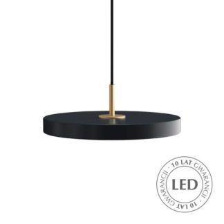 Nowoczesna lampa wisząca Asteria Mini - antracyt, LED