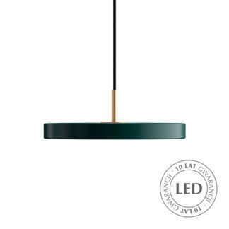 Ciemnozielona lampa wisząca Asteria Mini - LED