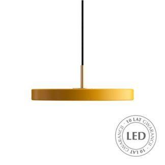 Żółta lampa wisząca Asteria Mini - LED
