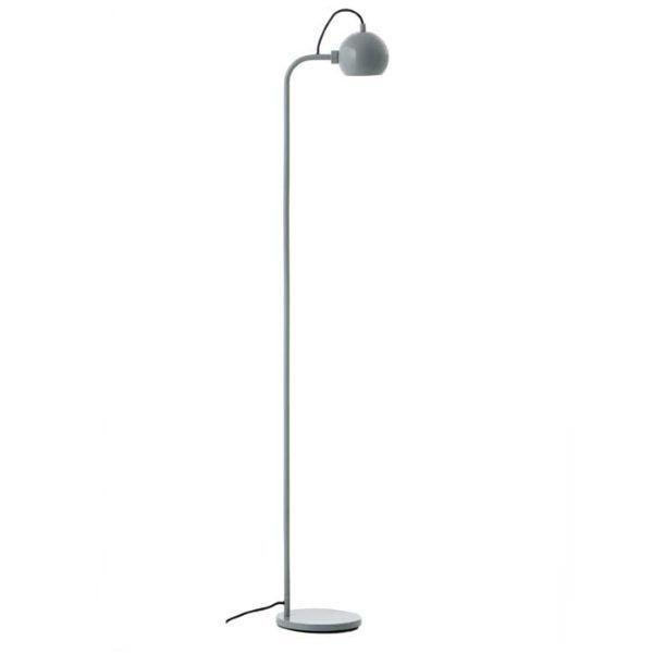 Lampa podłogowa Ball Single - miętowa, połysk