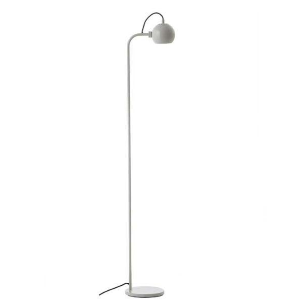Lampa podłogowa Ball Single - jasnoszara