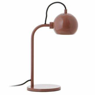 Lampa stołowa Ball Single - czerwień w połysku