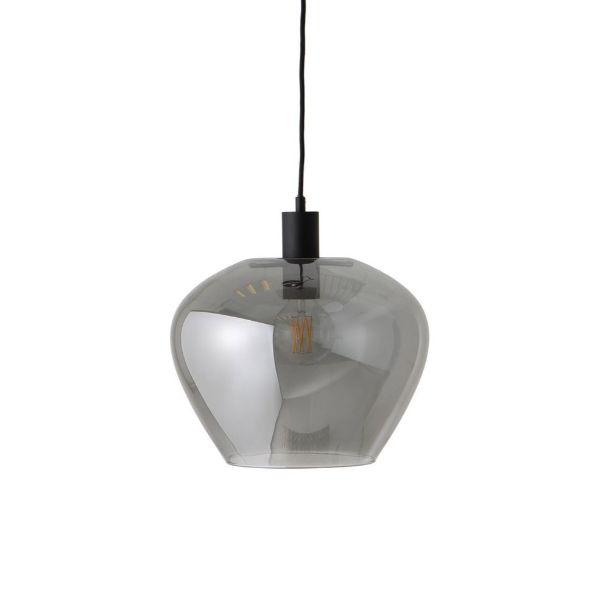 szklane szare lampy wiszące