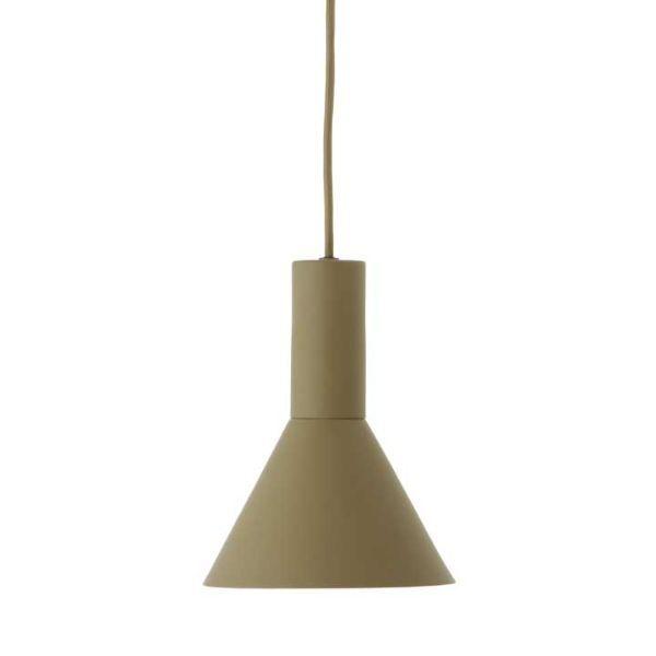 Nowoczesna lampa wisząca Lyss - zielona