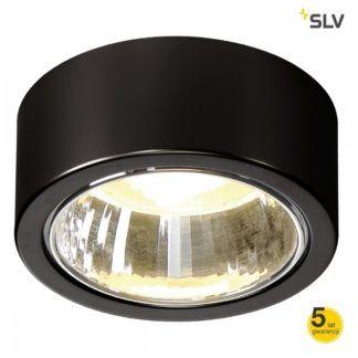 Okrągły spot downlight sufitowy CL 101 GX53 - czarny