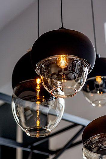 lampy wiszące ze szkła