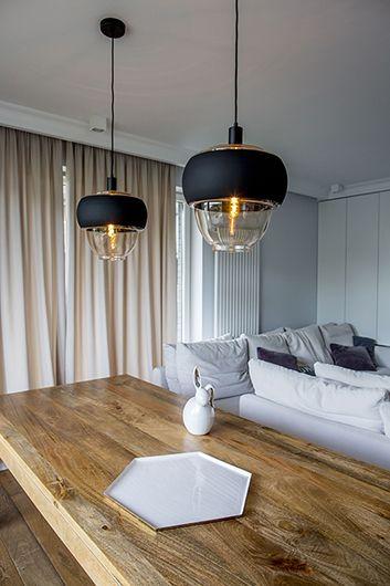 nowoczesne oświetlenie aranżacja salon