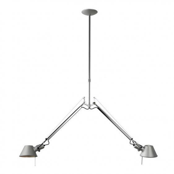 lampa wisząca z regulowanymi ramionami