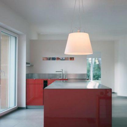 lampa wisząca do kuchni aranżacja