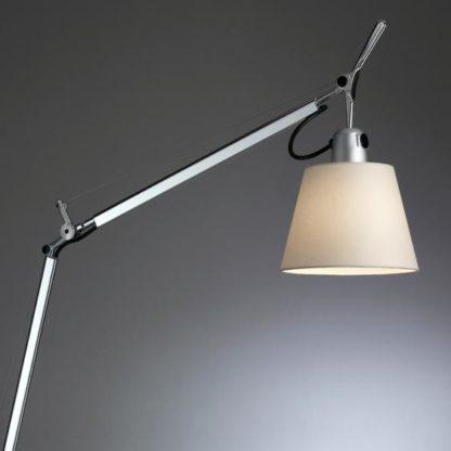 lampa biurkowa pergaminowy abażur