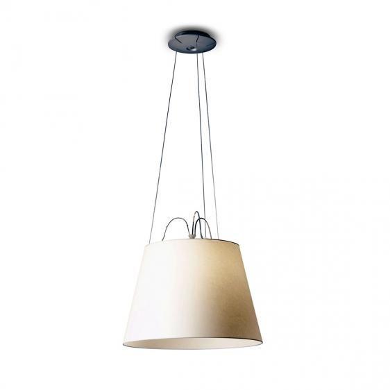 lampa wisząca z abażurem