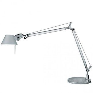 Lampa biurkowa Tolomeo Mini - srebrna