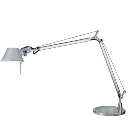 nowoczesna stabilna lampa biurkowa