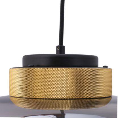 lampa wisząca złote detale