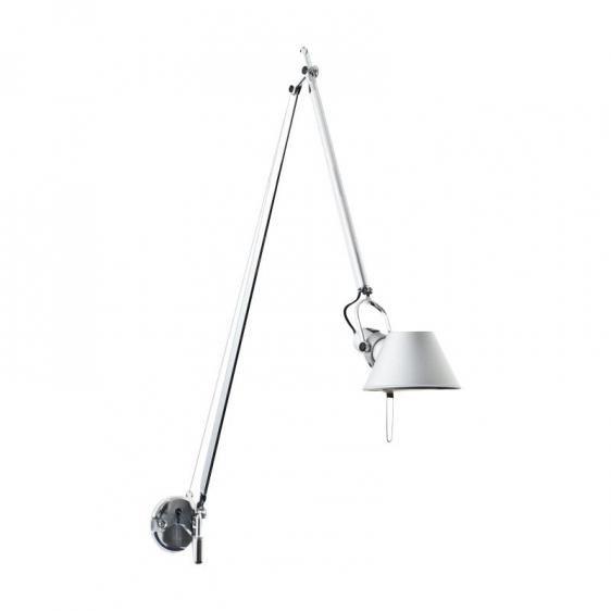 Kinkiet Tolomeo Braccio Parete - LED, aluminium