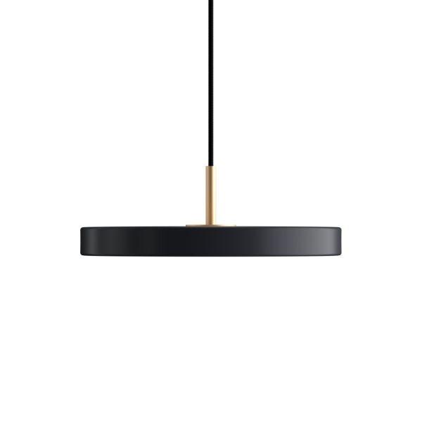 nowoczesna płaska lampa wisząca