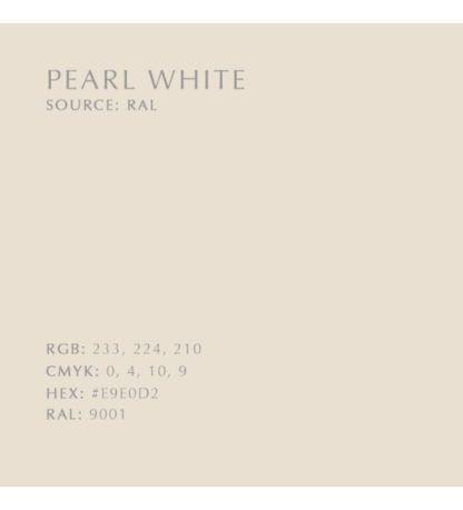 oświetlenie perłowa biel