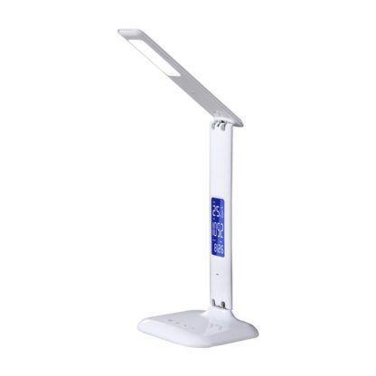 lampa biurkowa z wyświetlaczem